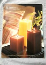 PartyLite Candle 2007 Everyday Catalog, Retired Collector
