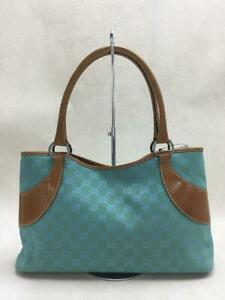 Gucci  Grn  Canvas Green Fashion Tote bag 4397 From Japan