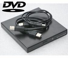 EXTERNES USB DVD CD DVD-ROM CD-ROM LAUFWERK DRIVE FÜR WINDOWS 98 XP 7 8 10 #LW2