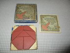 Anker Steinbaukasten Puzzle Legespiel Der Zornbrecher mit Anleitung ca. 1910