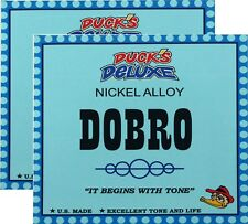 TWO SETS: Dr. Duck's Dobro/Resonator Guitar Strings, Nickel Alloy, Round Wound