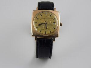 Interessante GDR GUB 20 Jahre NVA  Uhr DDR Ostalgie Armbanduhr Leder