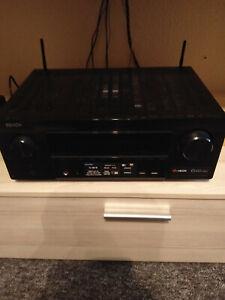 Denon AVR-X2500H 7.2 AV-Receiver, Dolby Atmos, dtsX, Bluetooth, Alexa, HEOS
