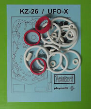 1984 Playmatic KZ-26 / UFO-X pinball rubber ring kit