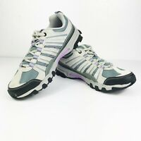 FILA Day Hiker Running Shoes Gray Suede Sneakers Women's 9
