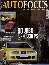 Auto Focus 3 98 1998 Ford Mustang GT Seat Bolero Renault Grand Espace M-Klasse