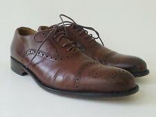John W. Nordstrom Mens Size 7.5 Cognac Sterza Cap Toe Oxford Dress Shoes