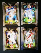 2015/16 Panini Select Soccer Cards [#9-Peru / #13-Serbia / #26, #27-Russia]