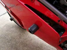 R&G Black Classic Style Crash Protectors for Ducati 999 All Years