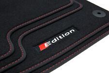 Premium doppia cucitura decorativa Tappetini per AUDI TT 8j Coupe Roadster Bj 2006-2014