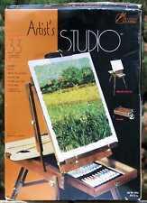 33 piece Artist's Studio Classic Portable Italian Folding Easel - New!