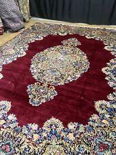 Wunderschöner Handgeknüpfter Orientteppich old rug 384x310cm Fein Nain