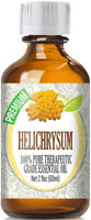 Helichrysum Essential Oil (100% Pure & Natural) Glass Bottle + Euro Dropper