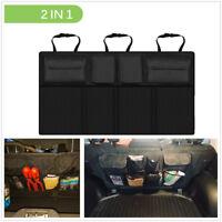 Multi-Use Car Seat Back Storage Organizer Interior Multi-Pocket Bag Accessories