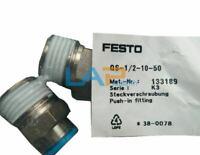 1PCS New FOR FESTO QS-1/2-10-50 133189 Connector