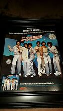 The Sylvers Forever Yours Rare Original Promo Poster Ad Framed!