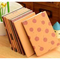 Neue handgemachte Journal Memo Dream Notebook Papier Notizblock Leere Tagebuch ^