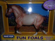 Breyer NIB * Roan Wixom * 1371 Fun Foals Treasure Draft Traditional Model Horse