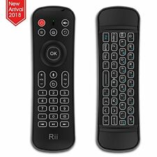 Rii Backlit Fly Mouse 2.4G MX6 Multifunctional Wireless Mini Keyboard and Remote