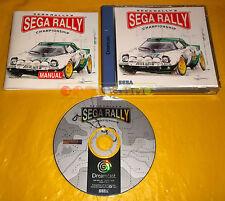 SEGA RALLY II 2 CHAMPIONSHIP Sega Dreamcast Dc Versione Europea PAL ○○ COMPLETO