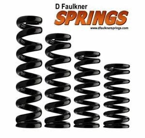 """Suspension Coilover Springs Faulkner's for F2 Oval Circuit Rally Racing 1.9"""" ID"""