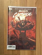 Marvel Absolute Carnage 1 signed by Ryan Stegman w/COA