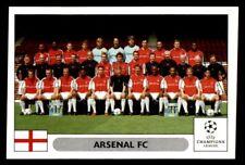 Panini Champions League 2000/2001 - Arsenal FC team Arsenal FC No. 96