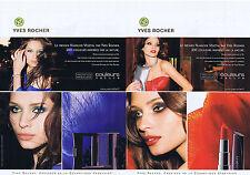 PUBLICITE ADVERTISING 094 2009 YVES ROCHER les couleurs Nature (2 pages)