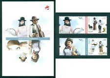 PORTUGAL 2019 COSTUMES OF THE MEDITERRANEAN-2 STAMPS MNH + BROCHURE ISSUED 08/07
