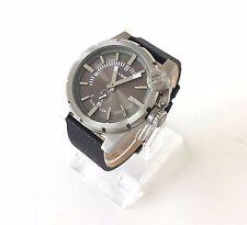 Original Diesel Herren Uhr schwarz Leder DZ4271 Neu