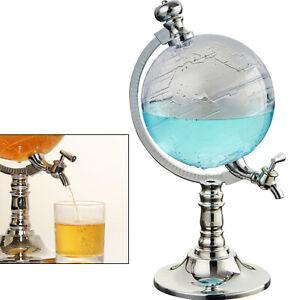 Bar Whisky Dekanter Spirituosenspender Globus-Stil Alkohol Gießmaschine Pumpe