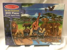 Melissa & Doug On the Savannah 300 Piece Kids Puzzle New in plastic Games Family