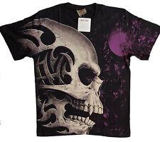 Harley Skull grande t-shirt M L XL 2xl 3xl black shirt Big Size oversized HD-Club