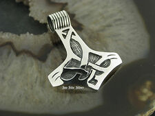 Ketten Anhänger Celtic THORS HAMMER Keltischer Knoten Gothic Celtic Silber 925