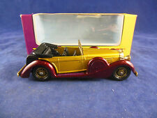 Matchbox Yesteryear Y11-3 1938 Lagonda Drophead Coupe gold Dark Maroon Issue 5*