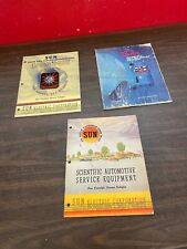VINTAGE SUN AUTOMOTIVE SERVICE EQUIPMENT HOT ROD COLLECTOR BOOKS MANUALS 1020