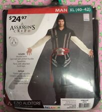 NEW MENS ASSASSIN'S CREED EZIO AUDITORE ADULT COSTUME SIZE XL 40/42 PALAMO