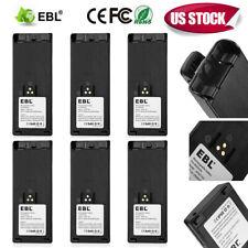6Pcs 2500mAh NTN7143 Ni-MH Battery for MOTOROLA HT1000 MTS2000 MT2000 NTN7144 US