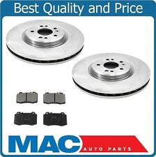 Fits 00-01 ML430 02-04 ML500 ML55 AMG  (2) Front Brake Rotors & Pads 34178 MD847