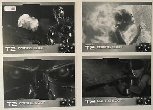 Terminator 2 Unstoppable Cards Proof Promo Set PS1-PS4 Limited Edition