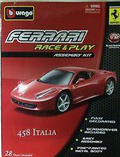 Bburago - 18-45200 - Asembly kit Ferrari ITALIA 458 scala 1:3 2 - Giallo