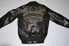 Pelle Pelle Men's Leather LIMITED EDITION  #21226 SIZE 42 M BLACK  AUTHENTIC NEW