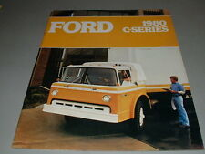 1980 FORD TRUCKS Sales Brochure, Medium Duty Big Trucks, C-SERIES, Free Shipping