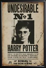 HARRY POTTER UNDESIRABLE POSTER FRAMED in Premium Black Wood Frame, Size 24x36