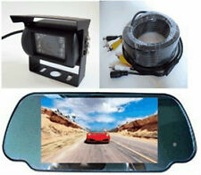 REAR VIEW BACKUP SYSTEM-LCD MONITOR&CCD INFRARED CAMERA With FREE 32' CABLE