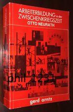 Stadler Neurath Arntz Isotype Arbeiterbildung Zwischenkriegszeit design pbk