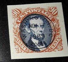 USA 90c 1989 first day single -orange