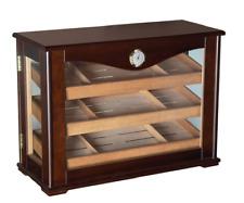 THE CAMBRIA 300 ~ Counter Top Display Humidor with Trays 300 Cigar Humidor