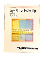 ANGELS WE HAVE HEARD ON HIGH Piano Trio Sheet Music~1 Piano/6 Hands~Ruth Perdew~