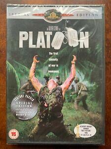 Platoon DVD 1986 Oliver Stone Classic Vietnam War Movie Special Edition BNIB